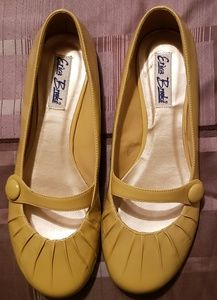 Shoes - Yellow Mary Jane Flat 12M New